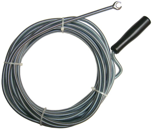 Abflussreiniger Rohrspirale Federstahl Verzinkt 10 M O 9mm